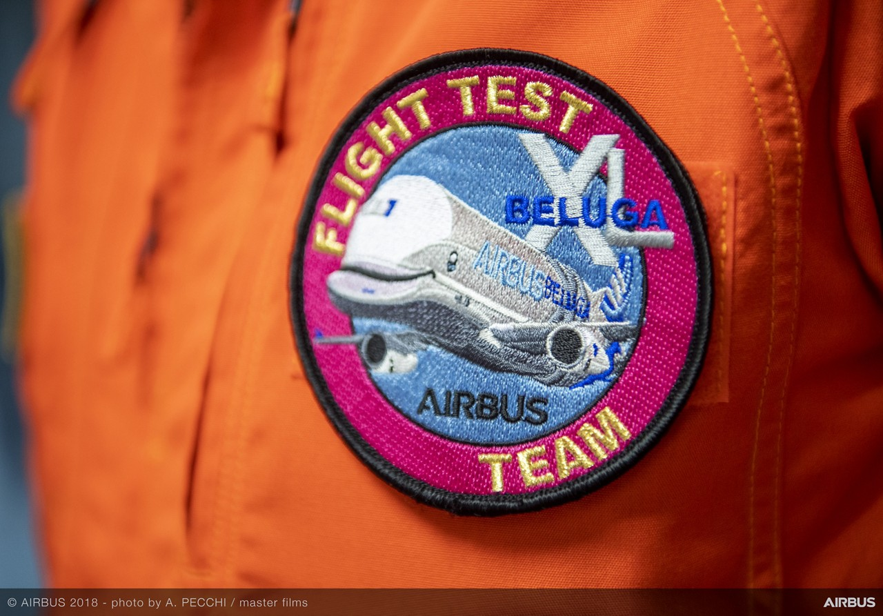 Beluga XL Flight Test Team patch