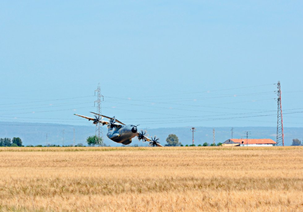 Airbus A400M MSN023 accident military aircraft Sevilla