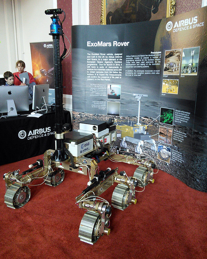 ESA ExoMars Rover Cambridge Science Festival